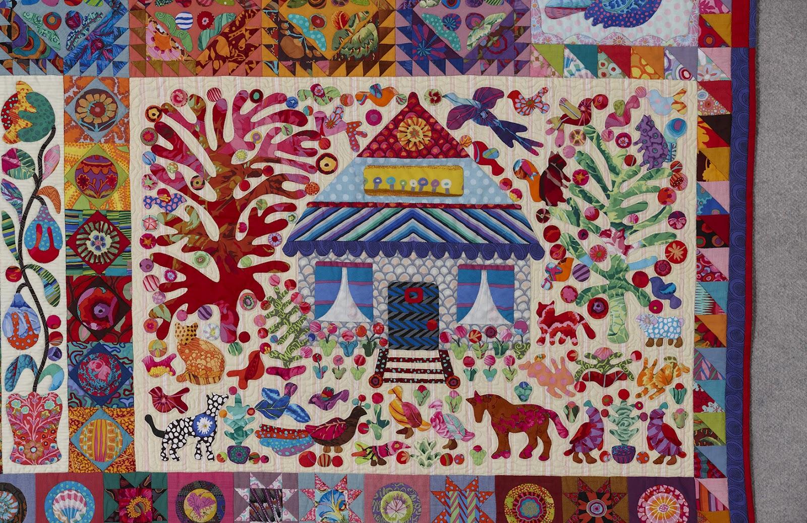 Glorious Applique: Pandemonium Quilt Tutorials # 5, House & Horse ... : quilt horse - Adamdwight.com