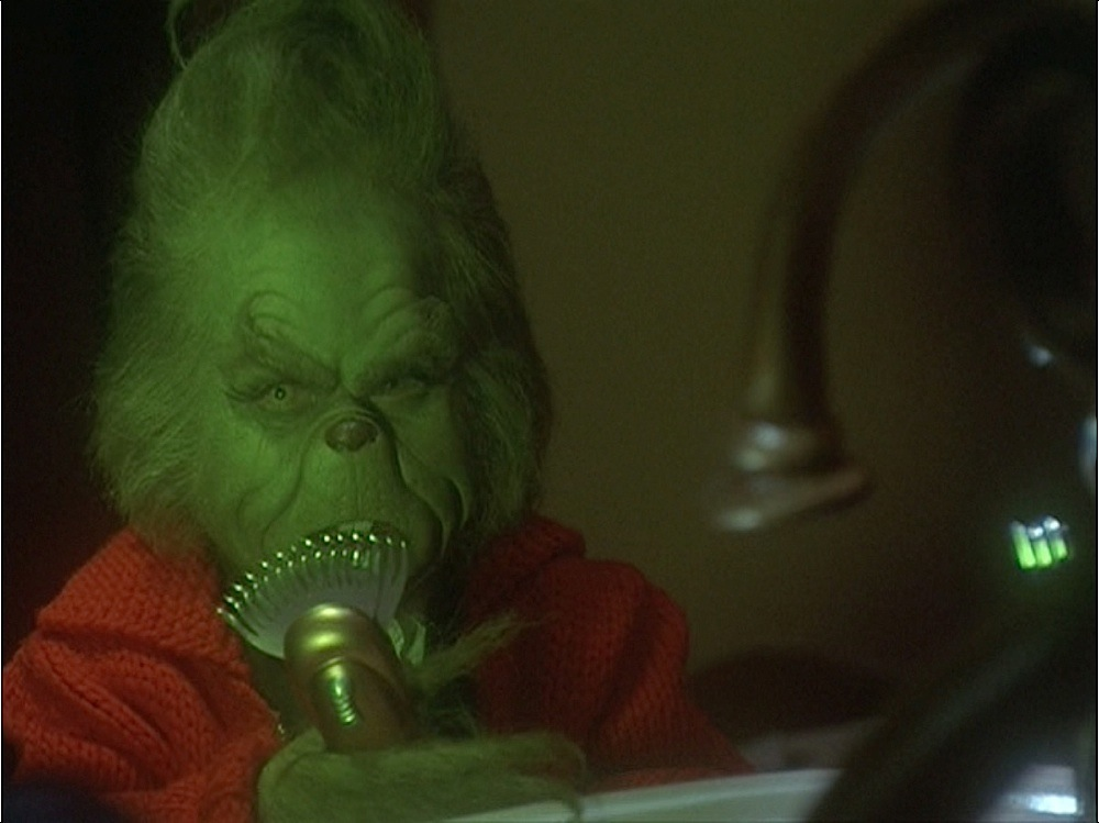 Suggest Shave that hairy grinch