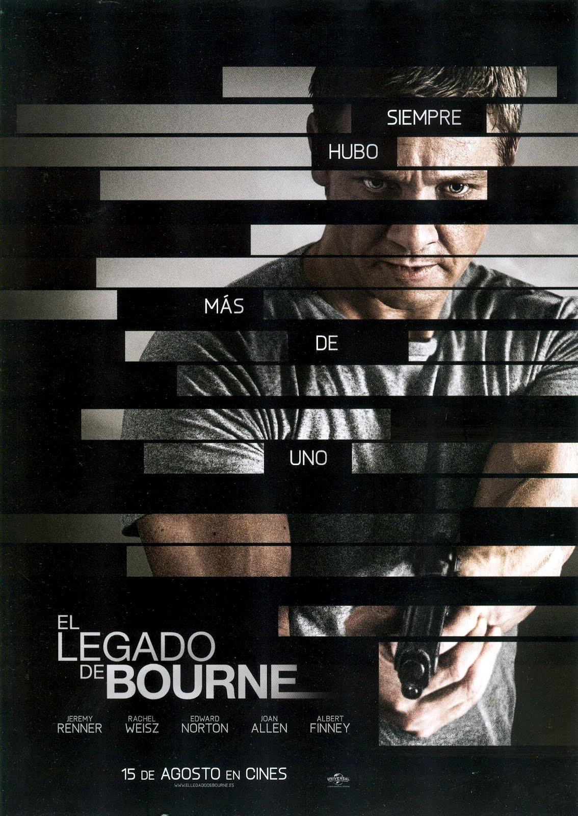 Pelicula El Legado de Bourne