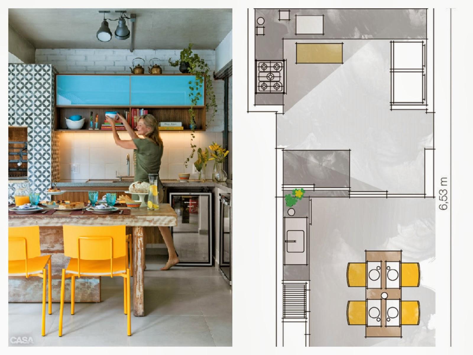 adorei a paleta de cor azul com amarelo e um toque de cinza e a mesa  #C38D08 1600 1200