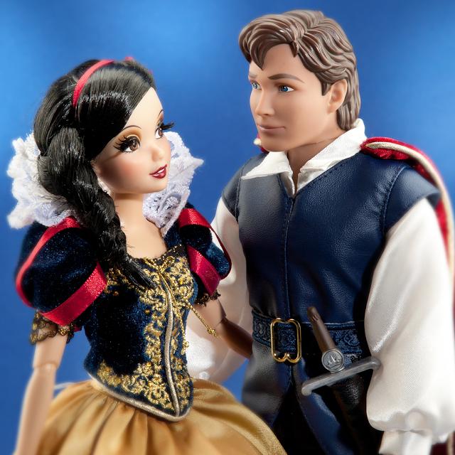 muñeca fairytale blancanieves y principe