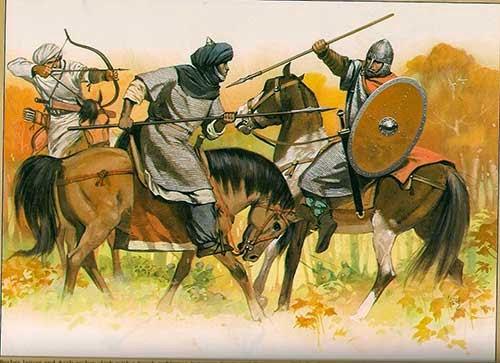 El reino del Norte (José Javier Esparza) -- Enfrentamiento cristianos y musulmanes