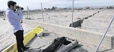 Archena news puerto lumbreras la tierra se abre en el - Viveros murcia el esparragal ...