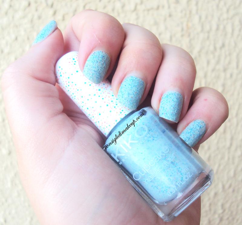 NOTD:  Cupcake Nail Lacquer  n°655 - Kiko Cosmetics