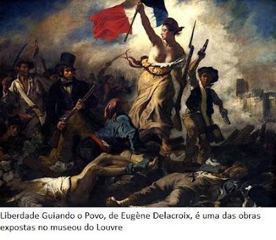Liberdade Guiando o Povo, de Eugène Delacroix