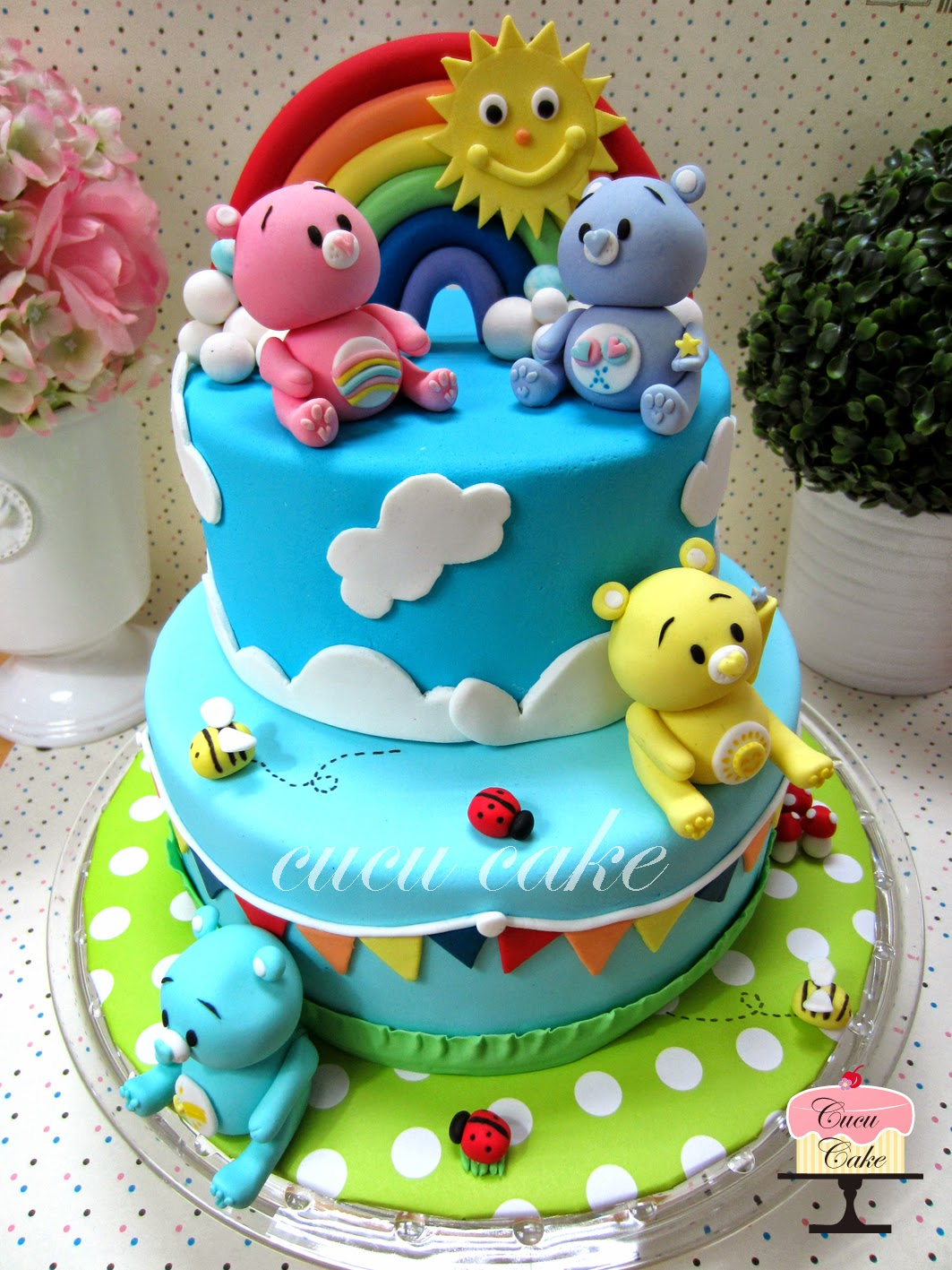 The Care Bears Dreamland Cucu Cake
