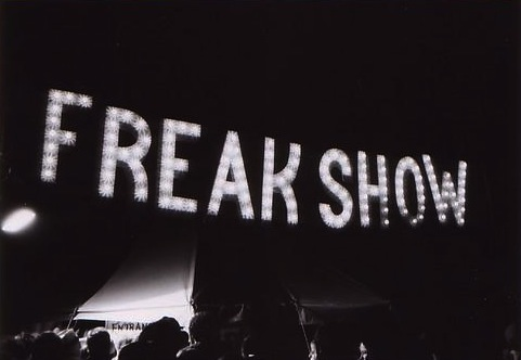 the political freak show