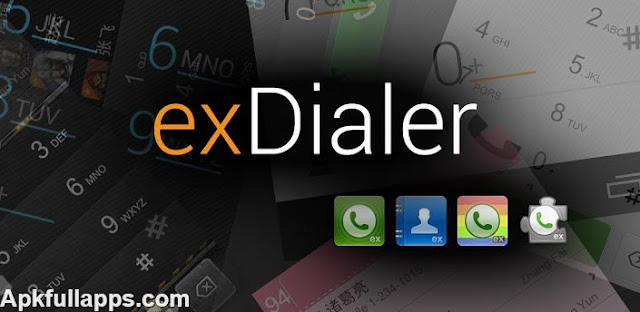 exDialer & Contacts Donate v121