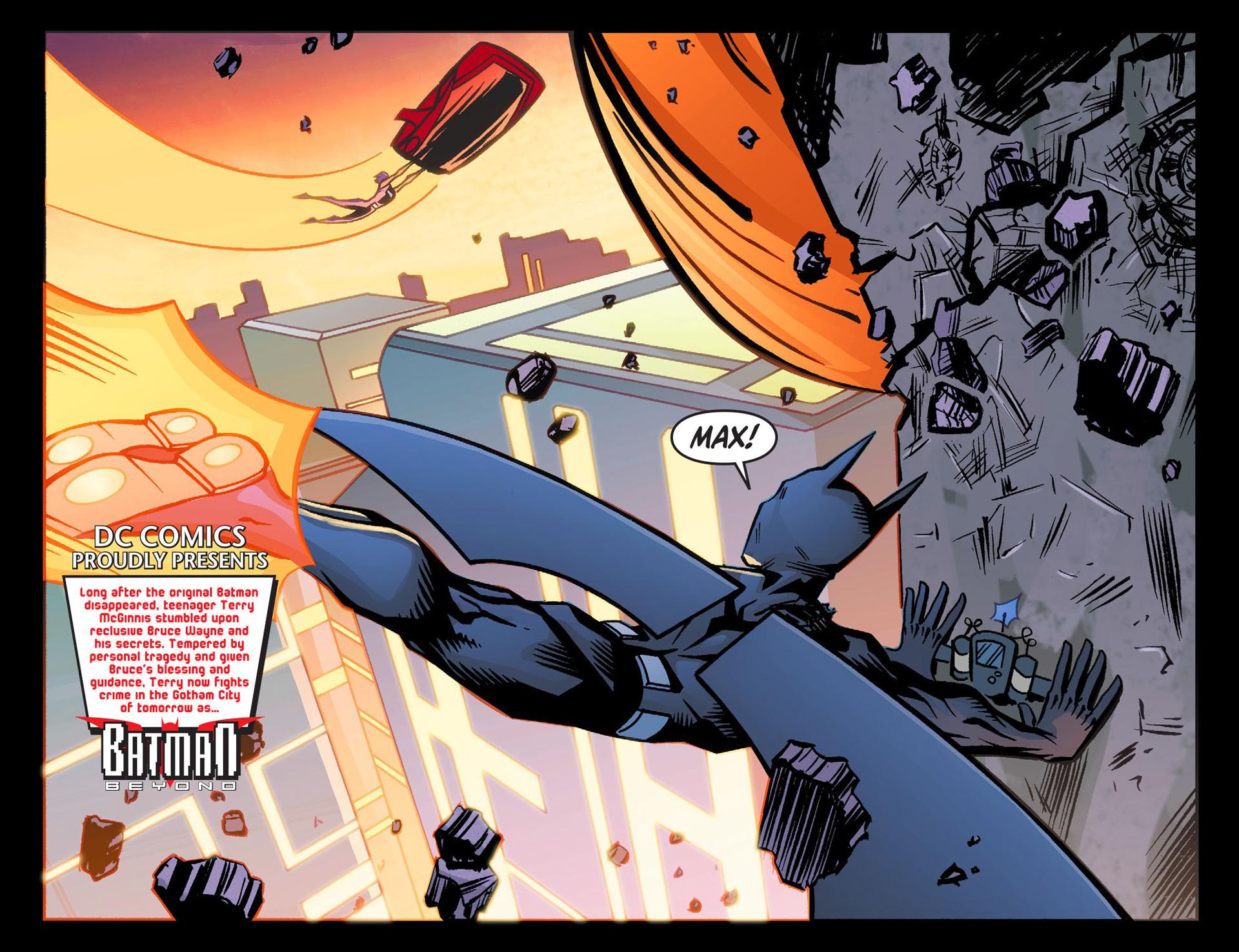 Batman Beyond (2012) Issue #26 #26 - English 3