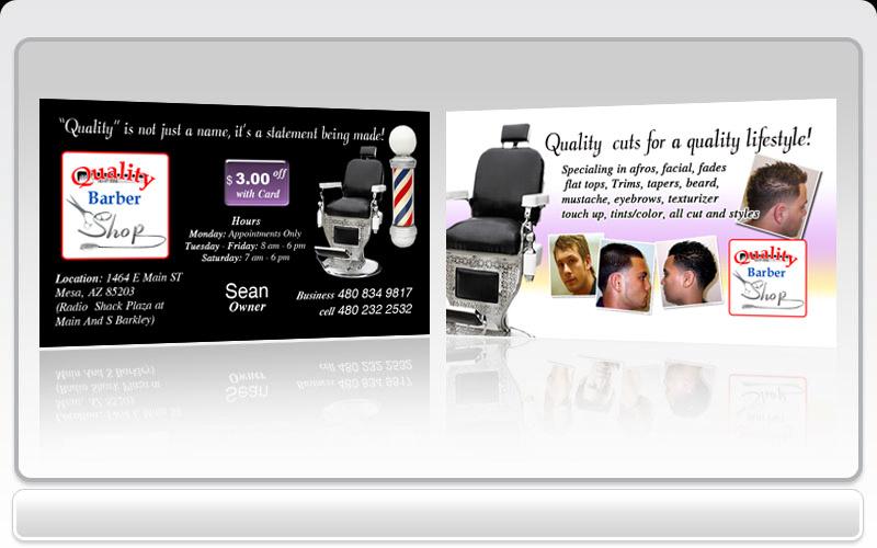 Barber girl photos barber business card for Barber business card