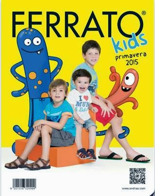 Calzado Ferrato Kids Primavera 2015