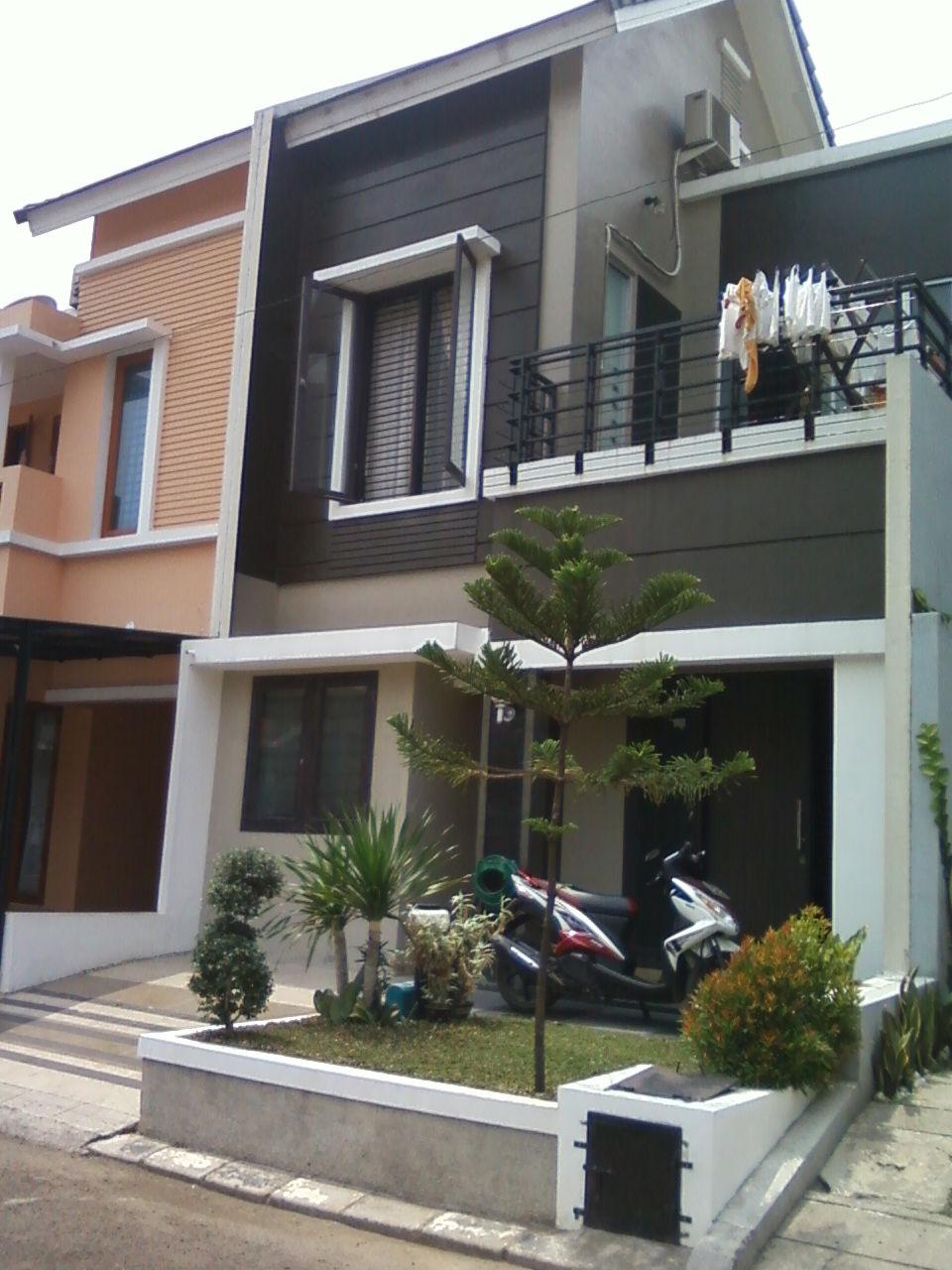 Arsitektur Gambar Rumah Minimalis Modern 2 Lantai  Design