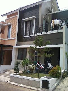 arsitektur gambar rumah minimalis modern 2 lantai | design