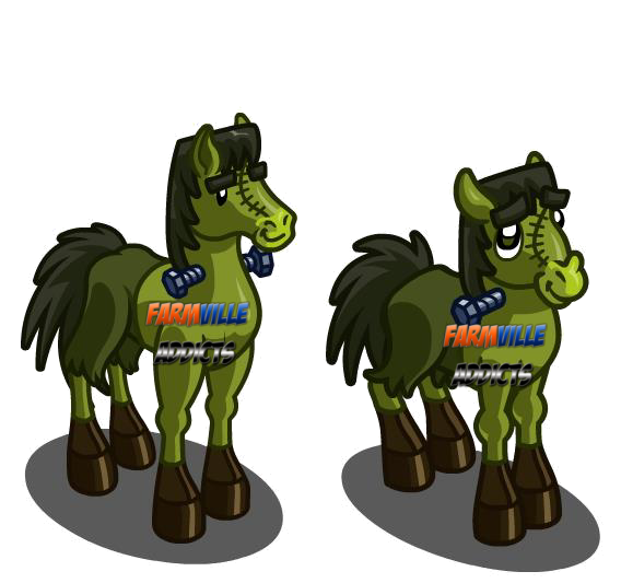 Farmville Addicts Experts Unreleased Franken Horse