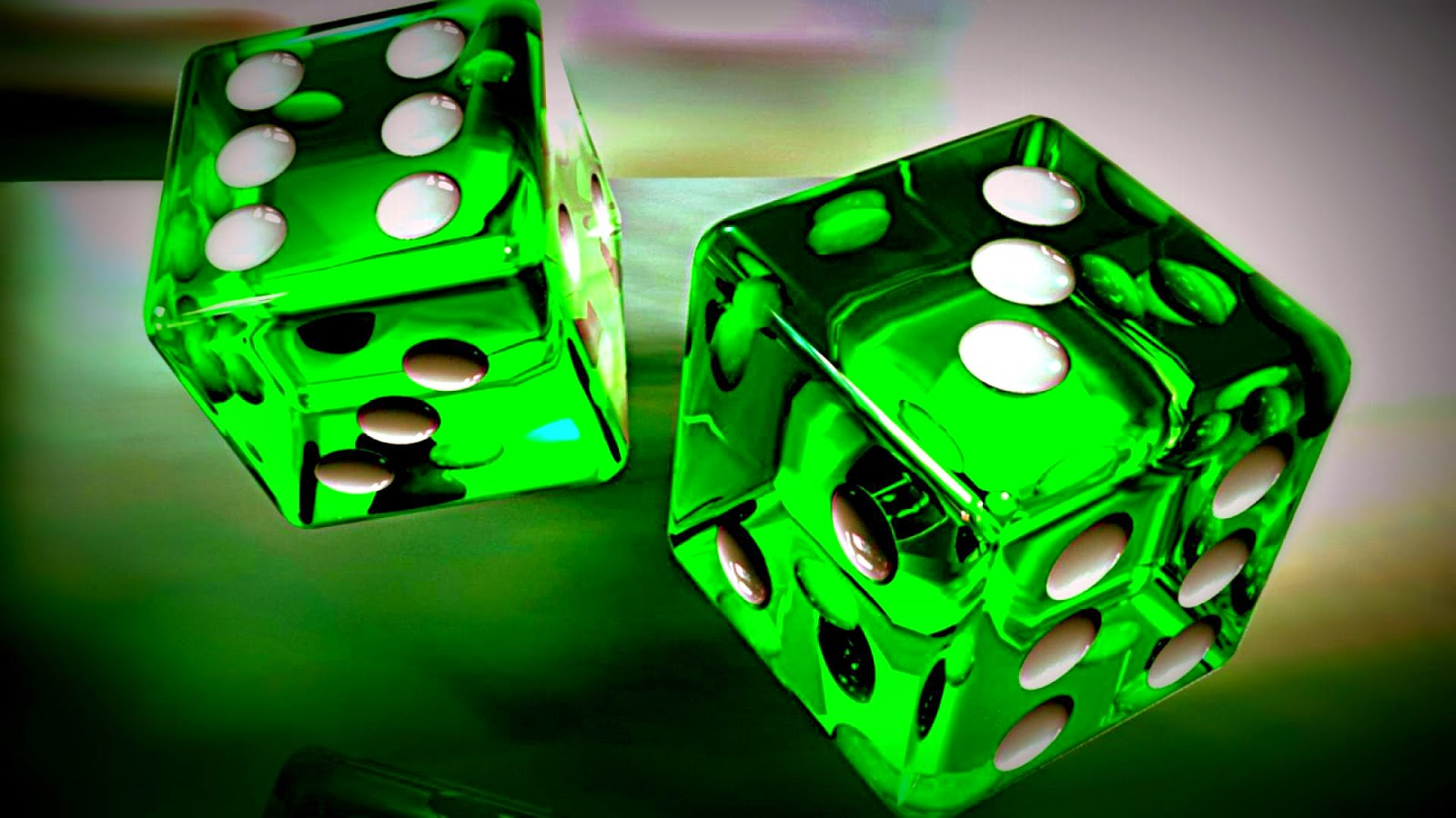 3d green dice hd wallpaper super wallpapers