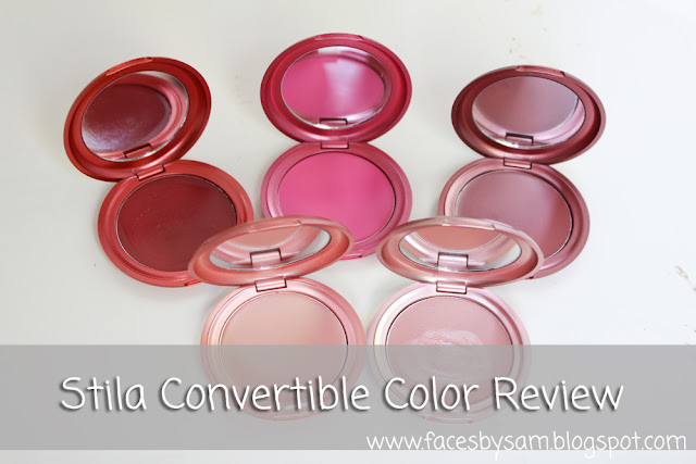 Stila Convertible Color in Poppy, Fuchsia, Rose, Lillium, and Peony