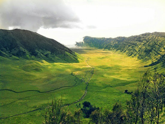 Teletubbies hill, Bromo Tengger