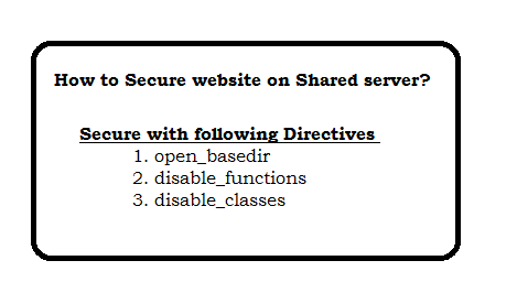 How to secure website on shared server
