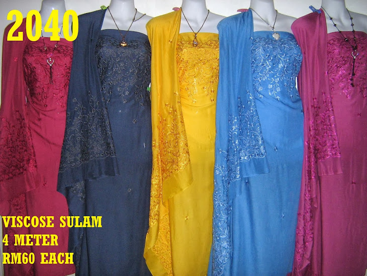 VS 2040: VISCOSE SULAM, 4 METER, 5 COLORS
