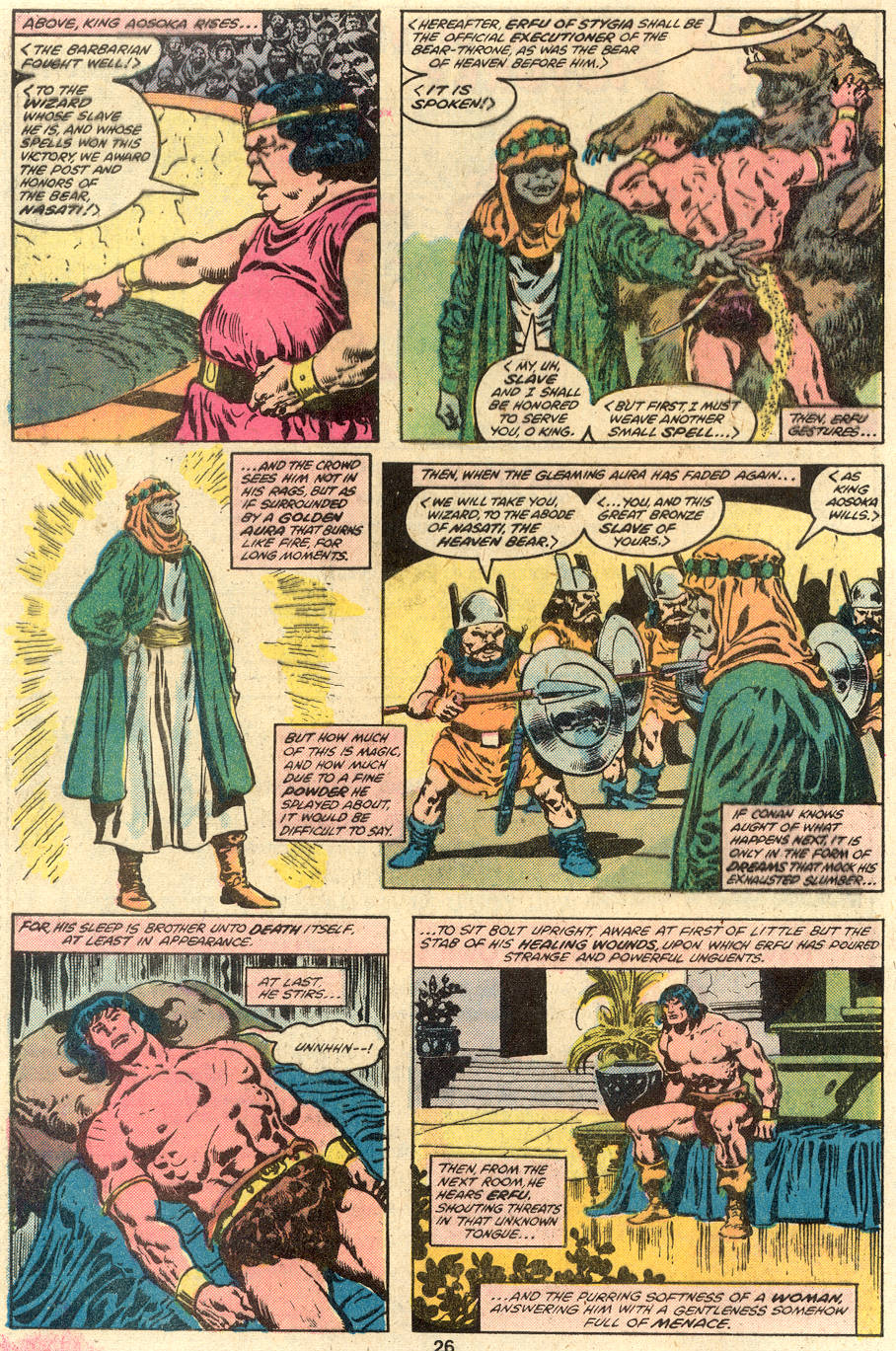 Conan the Barbarian (1970) Issue #110 #122 - English 15