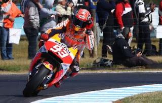 Marquez Pole Position MotoGP Australia 2015