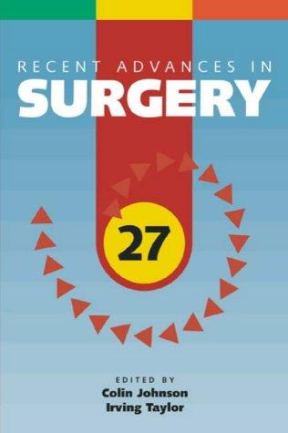 Recent Advances in Surgery PDF