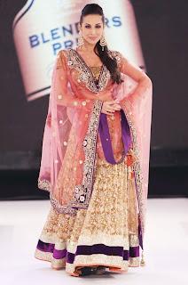 Malaika Arora in Designer Lehenga Choli