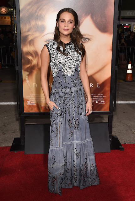 "Actress, @ Alicia Vikander - premiere of Focus Features' ""The Danish Girl"" in Westwood"