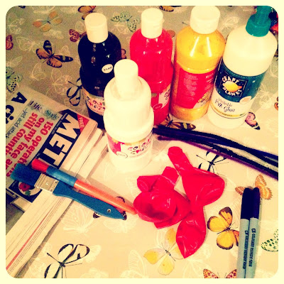 Ma Bicyclette: Make Your Own World | Halloween Papier-Mâché Decorations