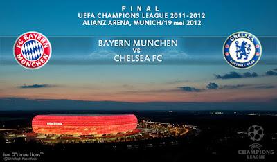 UEFA CHAMPIONS LEAGUE 2012 : CHELSEA FC england vs BAYERN MUNCHEN FC