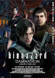 Ver Película Resident Evil: Infierno / biohazard DAMNATION   Online Gratis (2012)