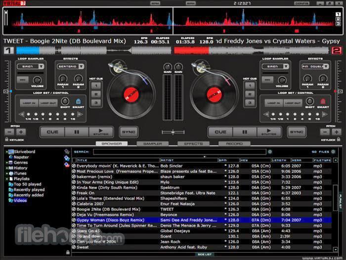 Virtual DJ PRO Edition 7.4.1 Image