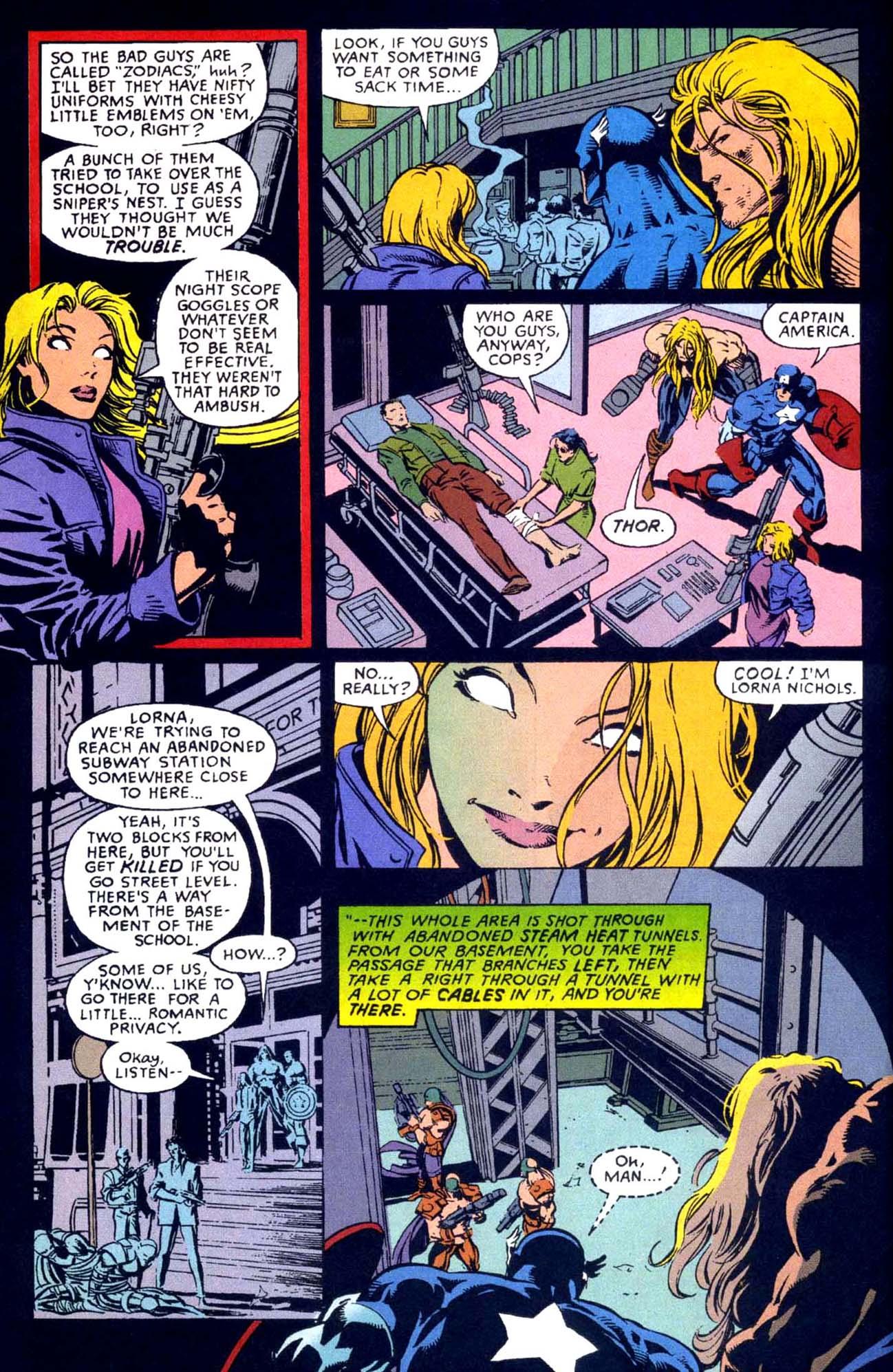 Captain America (1968) Issue #449b #404 - English 17