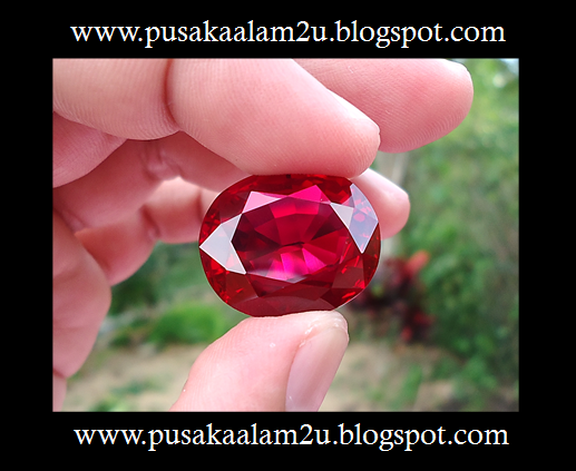 Batu Delima Merah Aba Yusuf - JENIS 1 ( SOLD )