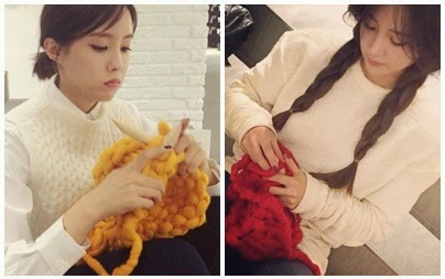 t-ara hyomin soyeon knit