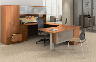 Global Total Office Zira Series Executive Office Configuration