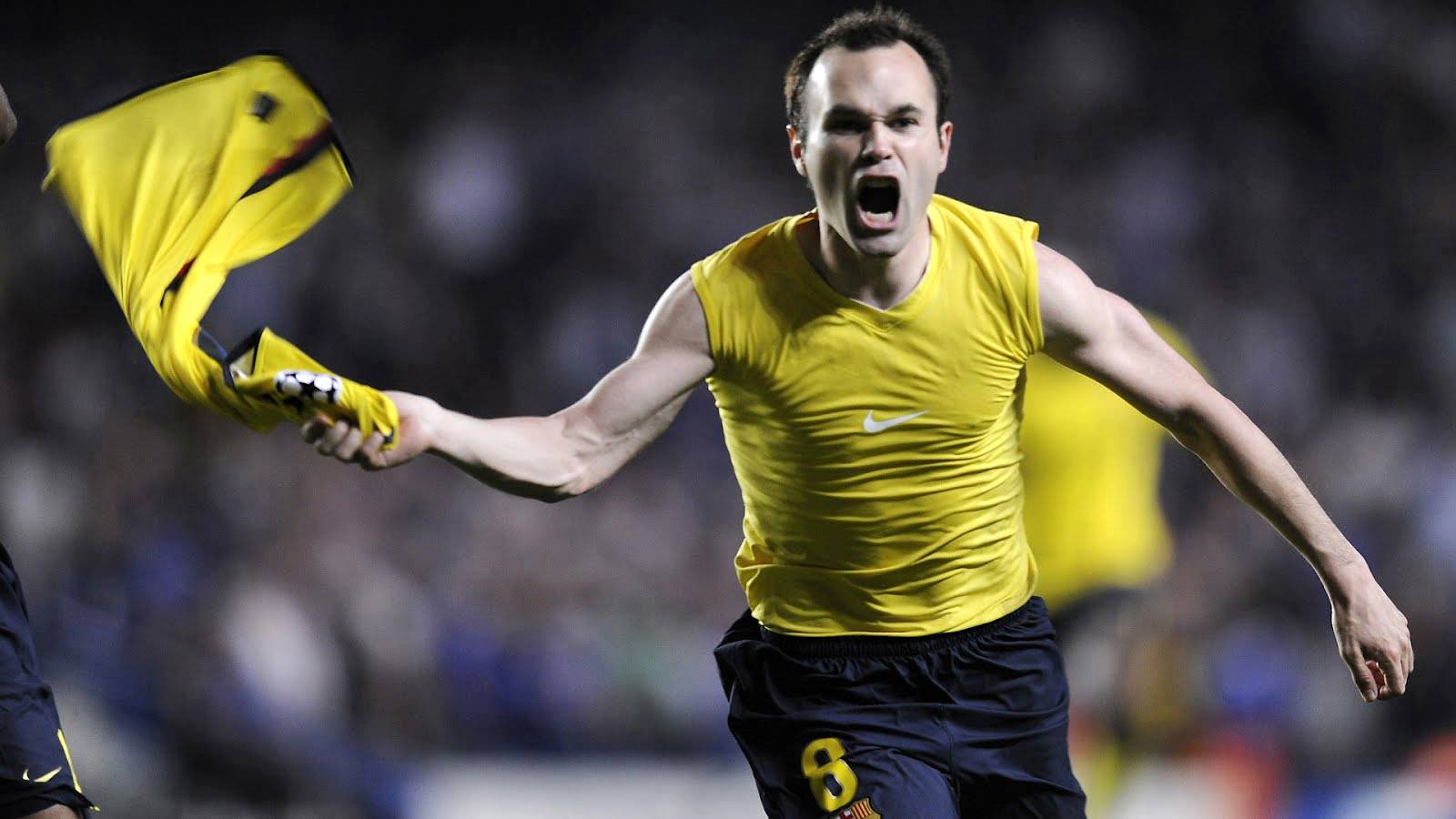 Champions League Andres Iniesta