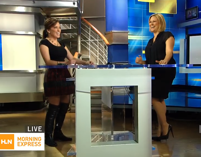 the appreciation of booted news thigh high