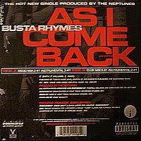 Busta Rhymes – As I Come Back (VLS) (2001) (320 kbps)
