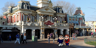 Casal Geek Eurotour 2013 - Descobrindo Paris - Disneyland Paris