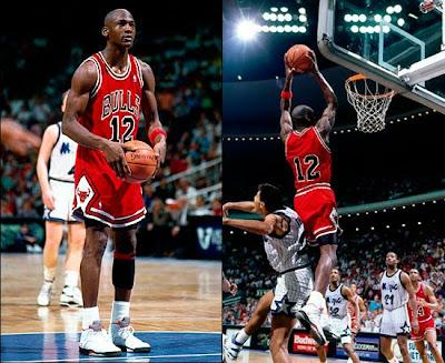 Jordan con el número 12