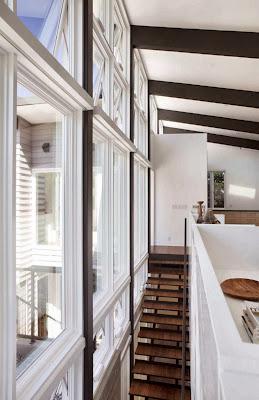 brown-stairs-design-in-white-Net-Zero-Energy-Modern-House