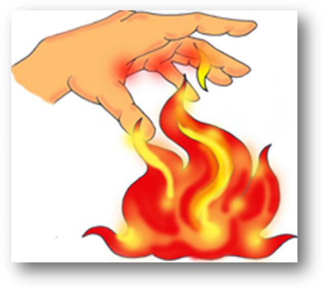 Atenci n primaria en quemaduras lesiones por fr o y calor for Llama en la cocina