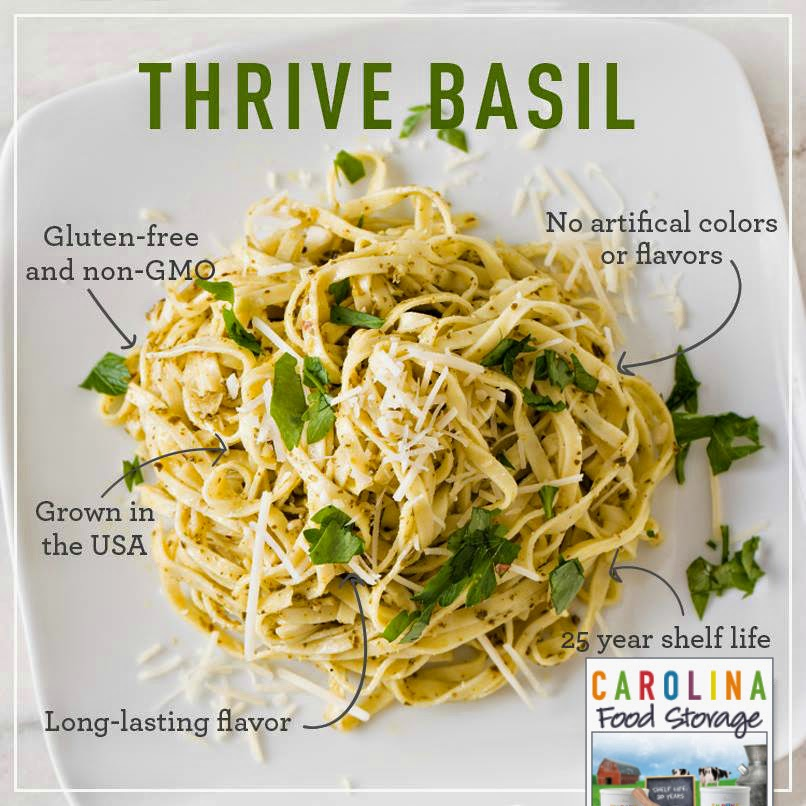 thrive life basil