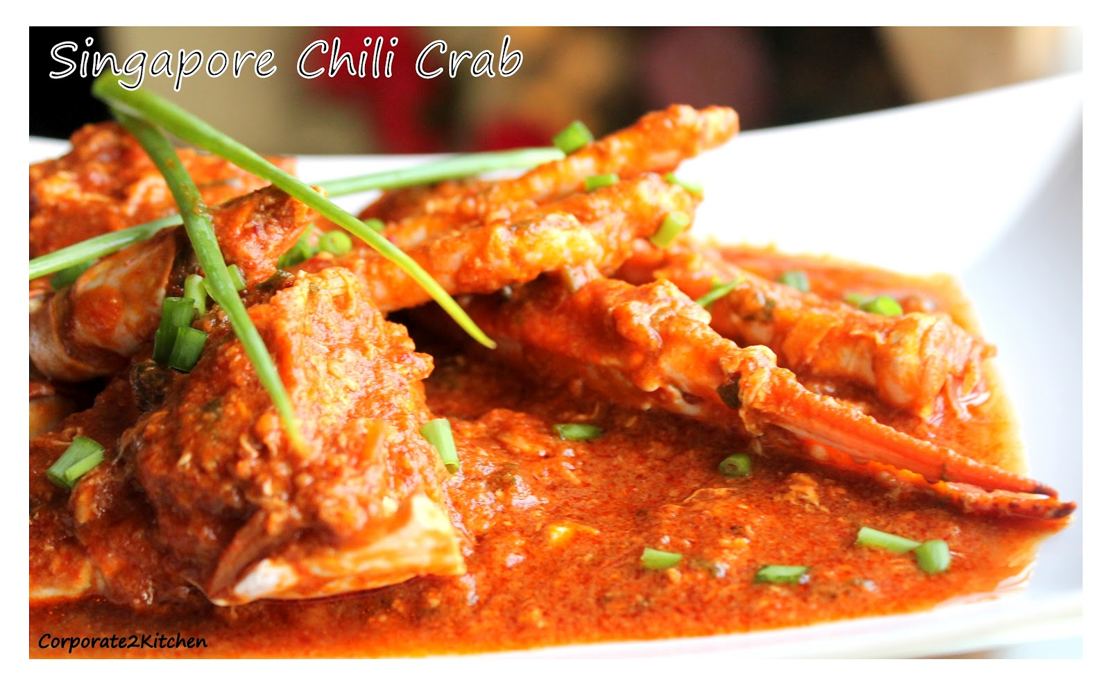 Korporate 2 Kitchen: Singapore Chili Crab