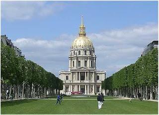 Cas de los inválidos de París y tumba de Napoleón