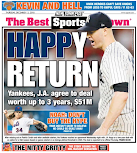 Happ takes Post cover
