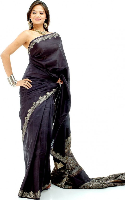 Indian Models in Saree