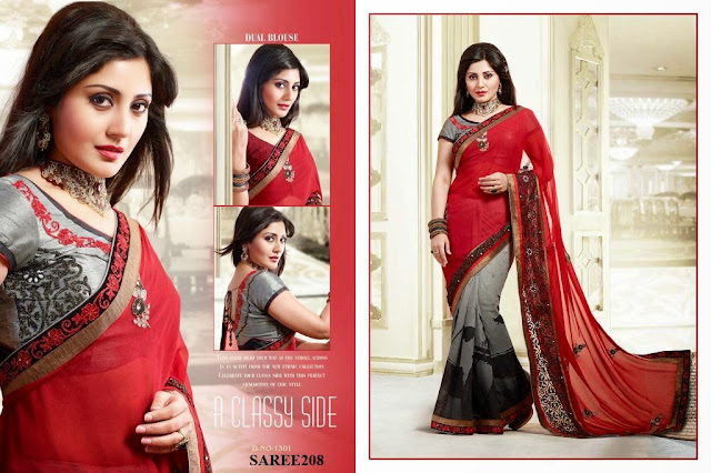 Latest Designer Embroidery Saree – Wholesale Supplier