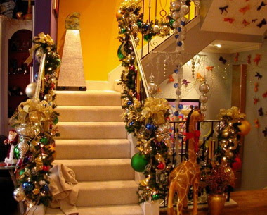 How to decorate your home for christmas how to magazine Holiday decorated homes